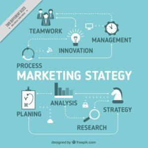Marketing Strategy Background Blue Tones 23 2147584974