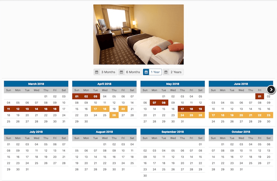 rooms-availability-calendar