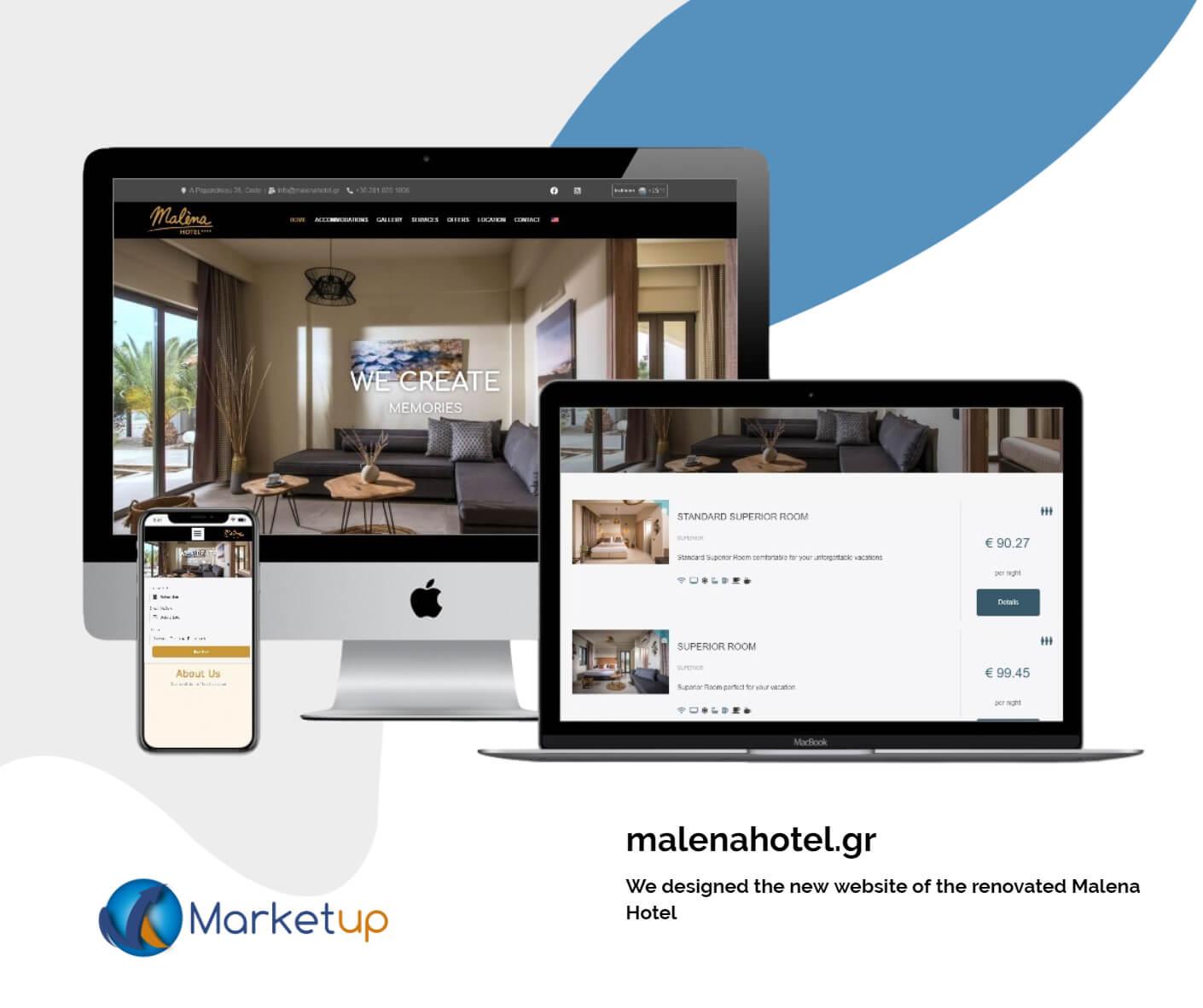 hotel SEO-marketup